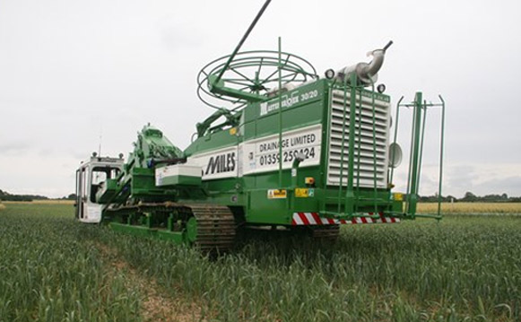 Agriculture Services in Suffolk and Essex, Miles Drainage