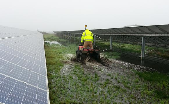 Green Energy Projects, Suffolk, Essex, Miles Drainage