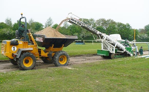 Manege Construction Services, Suffolk, Essex, Miles Drainage