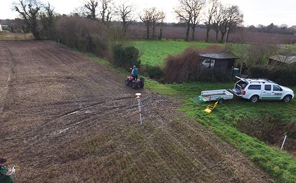 Topographical Survey, Suffolk, Essex, Miles Drainage