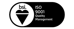 Accreditation's - BSI ISO 9001