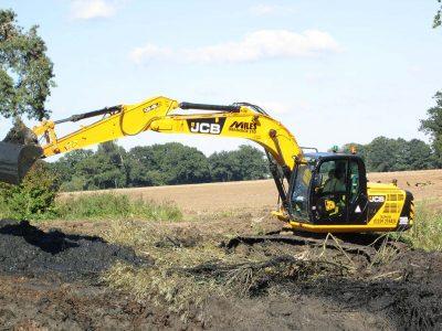 Vacancy for Tractor / Excavator Driver.