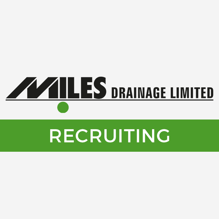 Jobs at Miles Drainage Ltd