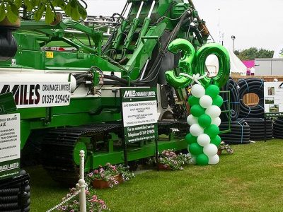 Miles Drainage at the Suffolk Show 2018, Ipswich, Suffolk