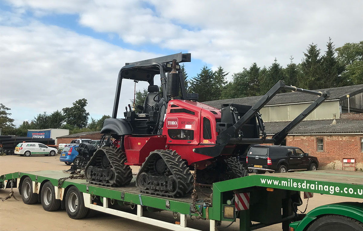 Miles Drainage welcomes a new Quad Plow to our fleet