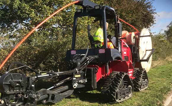 Utility Mole Plowing Services, Suffolk & Norfolk